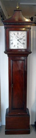 Late 18th century longcase Thomas Baker Malling